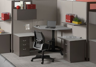 Mayline VariTask Workstation