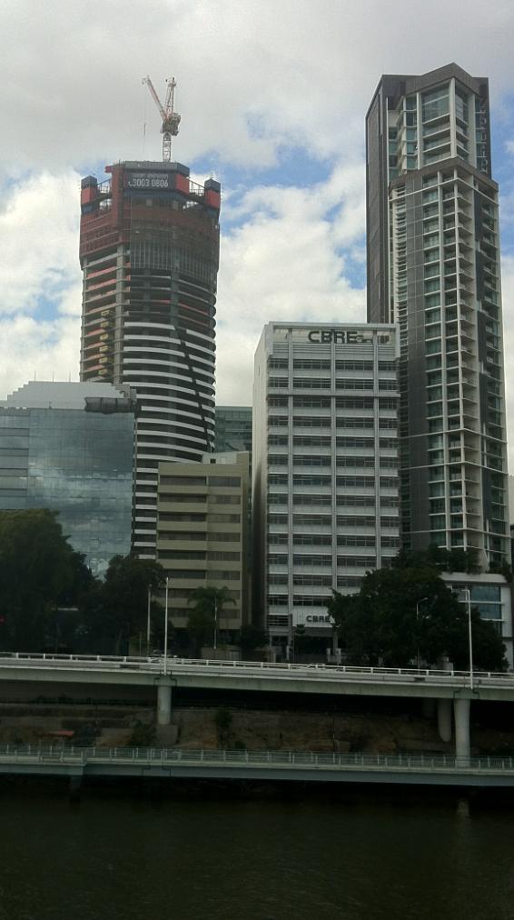 Brisbane Apartment Meriton Infinity Under Construction