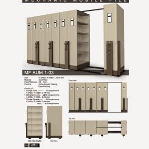 Mobile File System Mekanik Alba MF AUM 1-03 B ( 40 Compartments )
