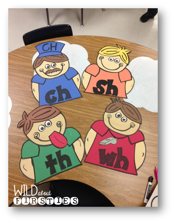 Fun With Digraphs! (and BIG news!) - Wild About Firsties!