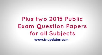 Tnpsc group 2 exam 2015