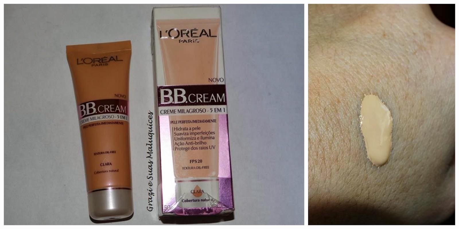 Resenha: BB Cream L´oreal (fotos antes x depois)