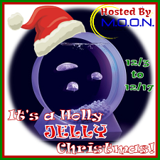 Signup for the Have a Holly Jelly Christmas blogger opp before 11/30. Desktop Jellyfish Tank prize.