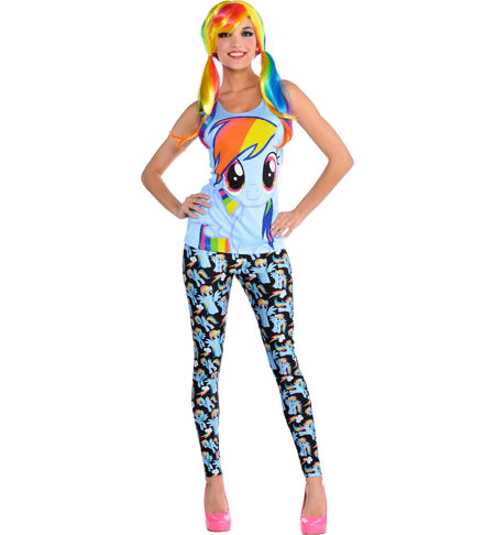 MLP Rainbow Dash Adult Costume