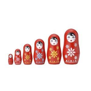 Pre-kindergarten toys - Matryoshka Madness Cutie