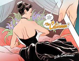 Page 22 from DC Comics Bombshells #8 featuring Catwoman