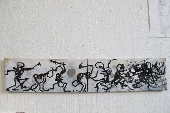 École supérieure des Arts de la Ville de Liège - Atelier Peinture: 2014 - 2015 Master 1