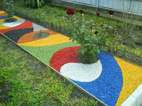 Фото садовые дорожки своими руками с малыми