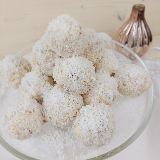 Schneebälle | Kokostorten Cake Balls | Foodblog rehlein backt