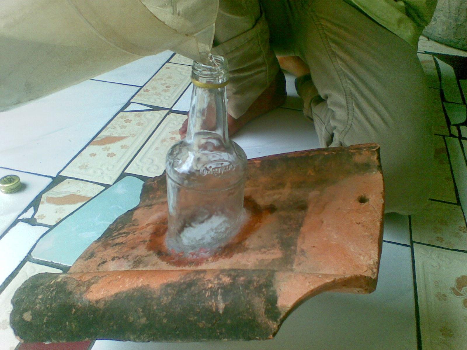 cara membuat lampu matahari dari botol bekas