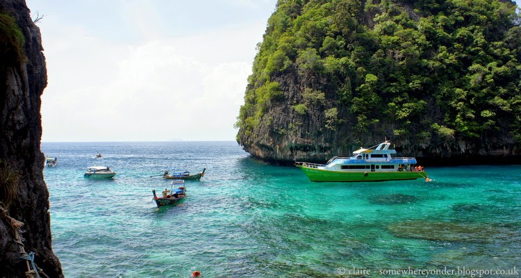 'The Beach' or Maya Bay Thailand