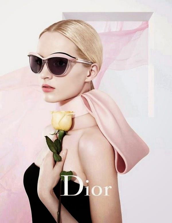 Cat Eyes Sunglasses Dior