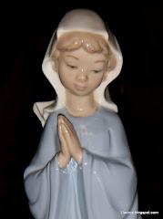 Lladro Nao Virgin Mary