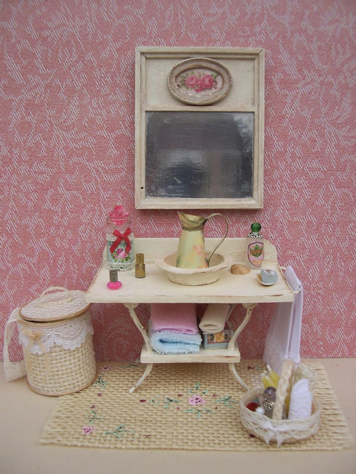 Mis rincones en miniatura muebles y complementos para el ba o - Muebles y complementos ...