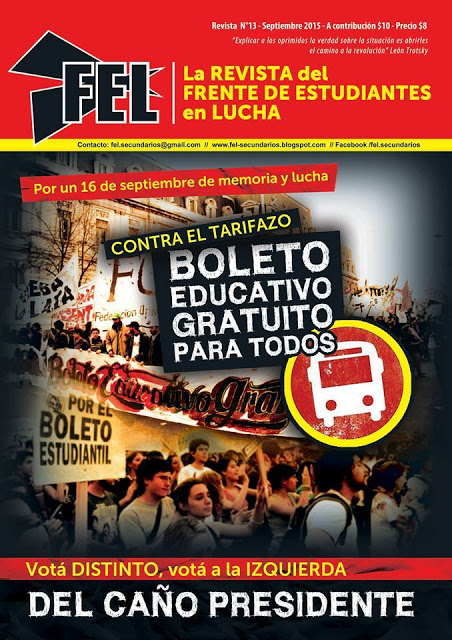 REVISTA DEL FEL N°13 - BOLETO EDUCATIVO GRATUITO PARA TODOS