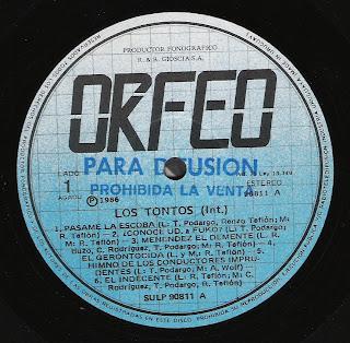 Los Tontos: Idem (1986)