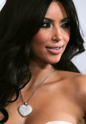 Kim Kardashian Decorative Heart Pendant