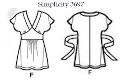 Simplicity 3697, front and back views