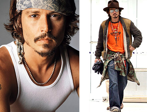 Collection Johnny Depp Hairstyles In Various Fashion