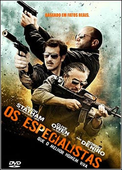 Download Os Especialistas DVDRip AVI Dual Áudio
