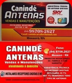CANINDÉ ANTENAS