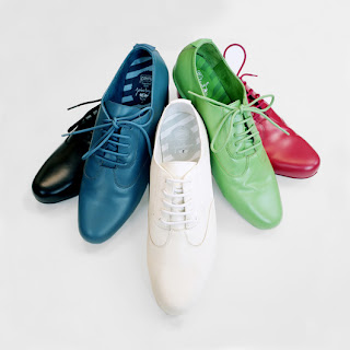 colorful long shoes