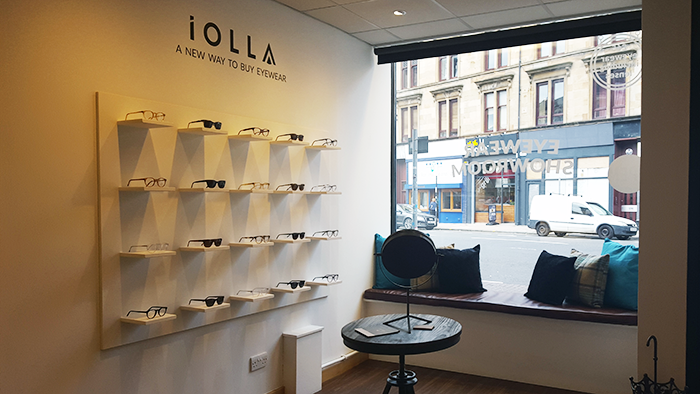 Iolla Glasses Showroom Glasgow | Colours and Carousels - Scottish Lifestyle, Beauty and Fashion blog