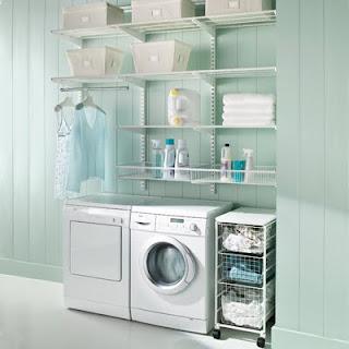 Fotos de lavander as ideas para decorar dise ar y for Diseno de bano y lavanderia