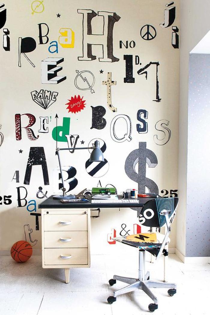 wallpaper for teener room - oneself