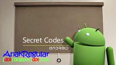 Kode Kode Rahasia Pada Android