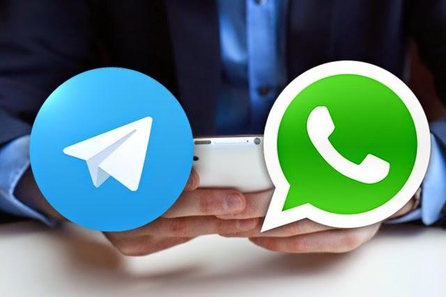 Pilih WhatsApp atau Telegram? Yuk Simak Dulu Kelebihannya