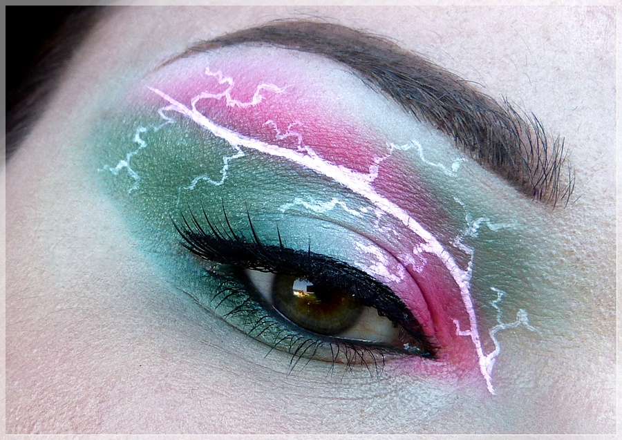 Sailor Jupiter Augen Make Up