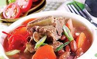 cara-membuat-sup-iga-sapi-kacang-merah-dengan-bumbu-sederhana