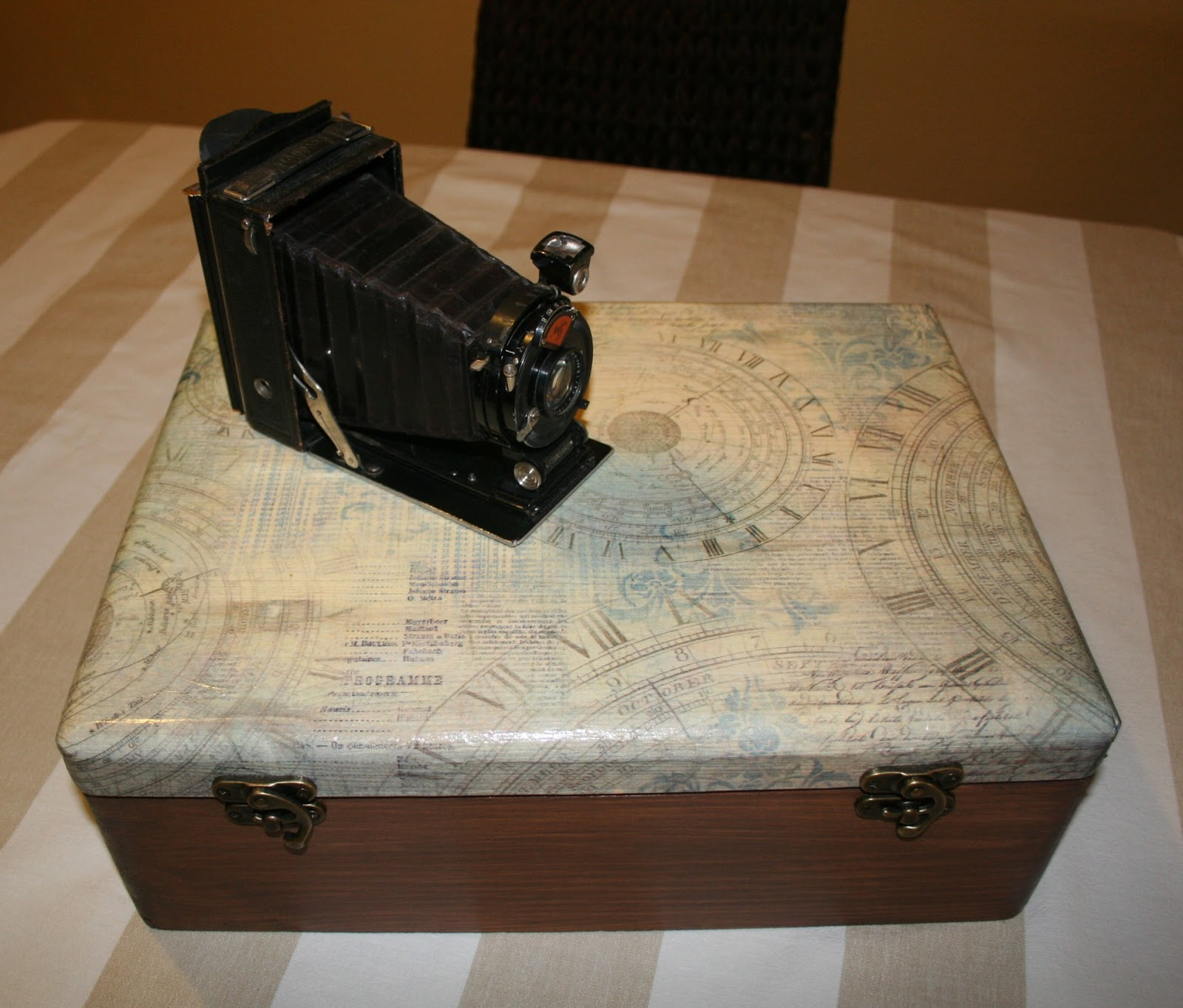 Caja De Madera Decorada Leroy Merlin