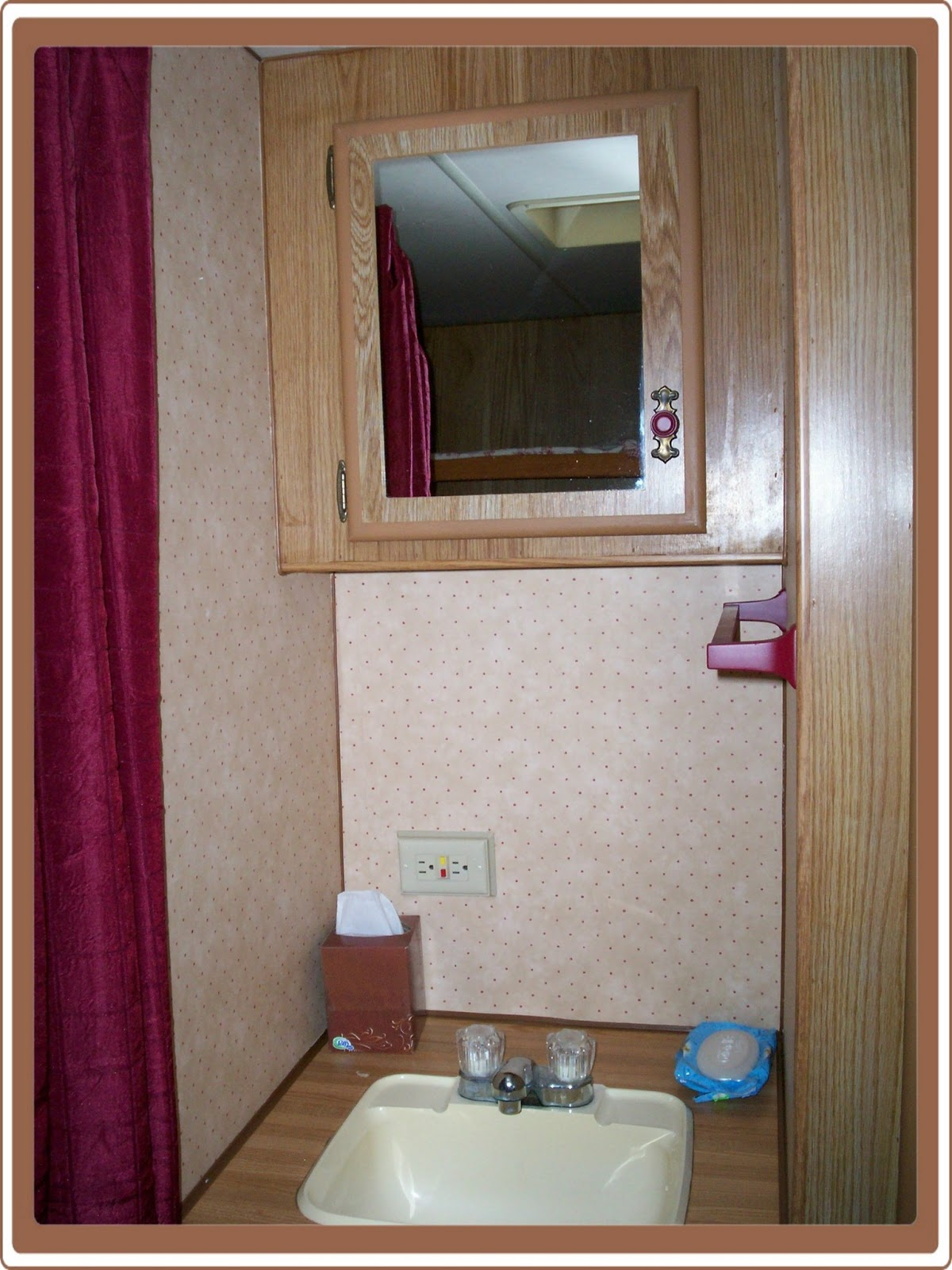 Travel trailer renovation remodeling a travel trailer for 2 bathroom travel trailer