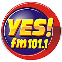 Yes FM Manila DWYS 101.1 MHz logo