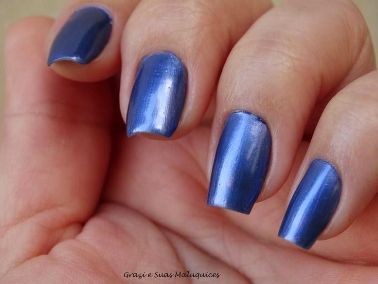 Swatches: Esmaltes Top Beauty Coleção Quebrando Gelo