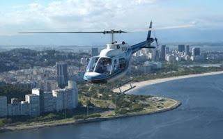 Veja informações completas sobre os passeios de helicópteros no Rio de Janeiro