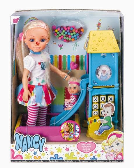 JUGUETES - NANCY - Parque Infantil | Muñeca  Producto Oficial | Famosa 700010614 | A partir de 4 años