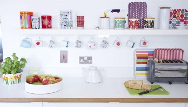 Una pizca de hogar cocinas originales y ballerina chic for Cocinas originales pequenas