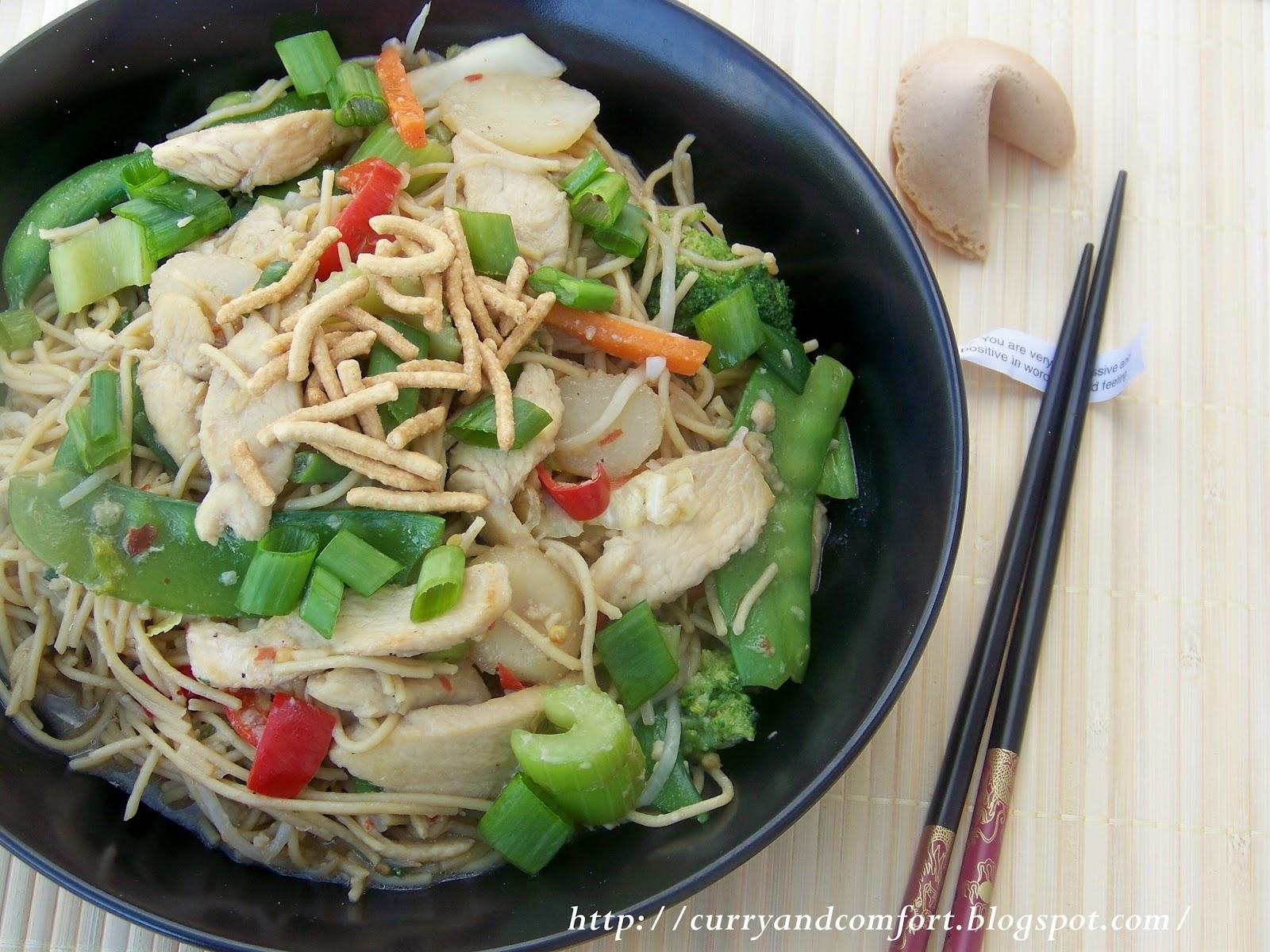 Kitchen simmer chicken chow mein noodles chicken chow mein noodles forumfinder Choice Image