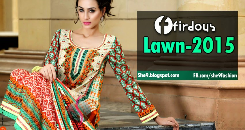 Firdous Collection Lawn 2015