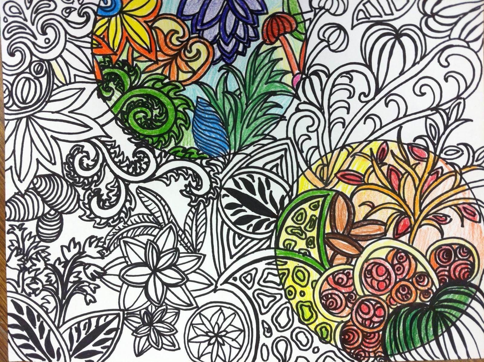 Mrs wille 39 s art room doodle designs - Doodle dessin ...