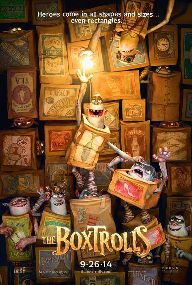 The Boxtrolls: poster del nuevo film animado de Laika