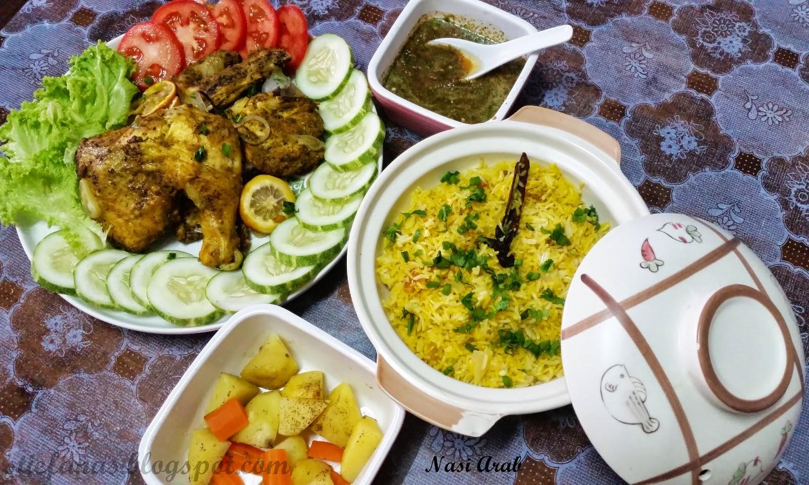 jom singgah: resepi nasi arab mandy