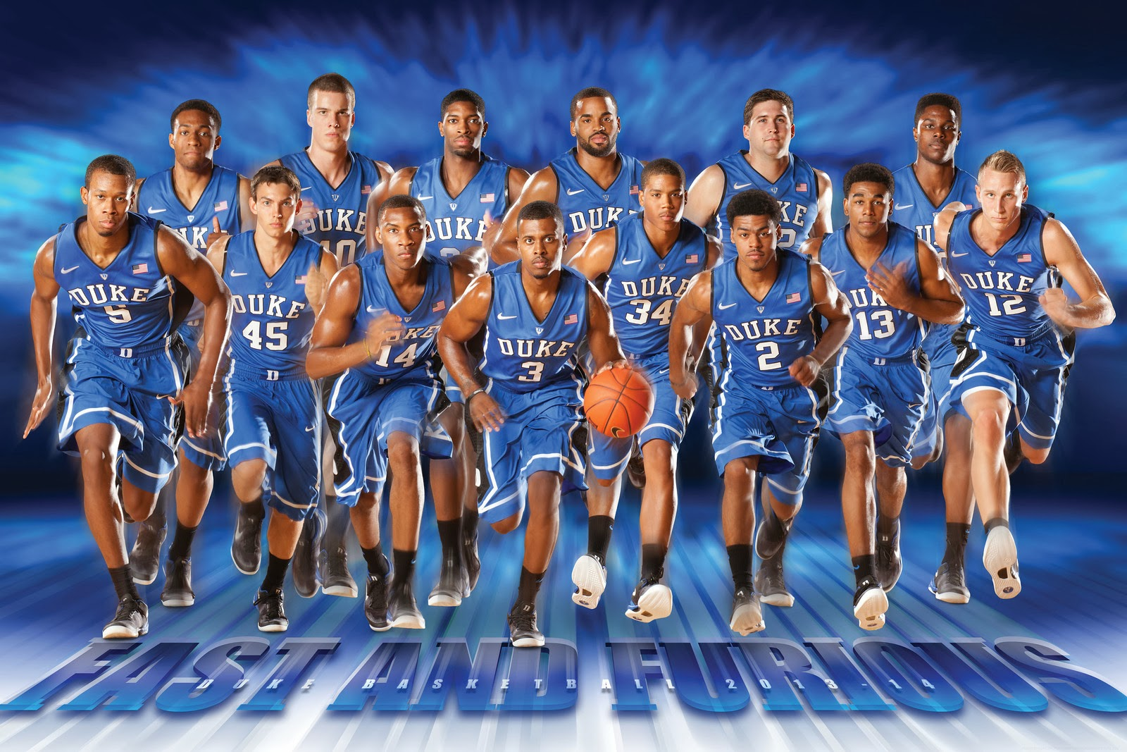 note...how goofy is the Duke Basketball Official Poster this year