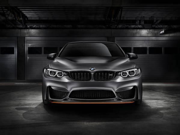 「BMW Concept M4 GTS」フロント画像