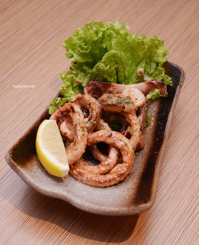 Squid rings with cod roe / Ika No Mentai Butter Itame - RM26