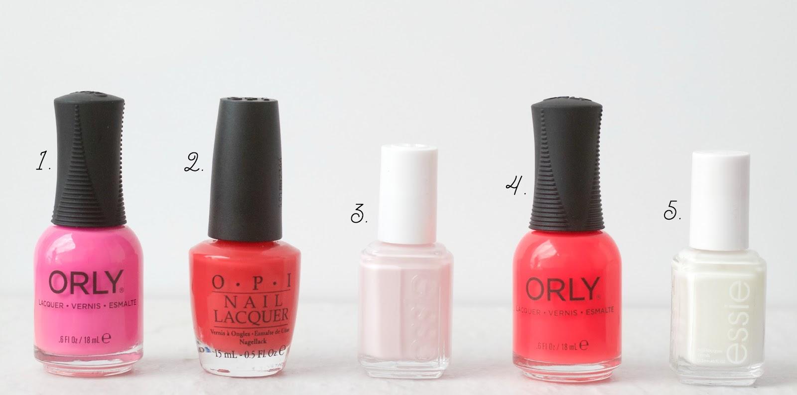 best summer colors