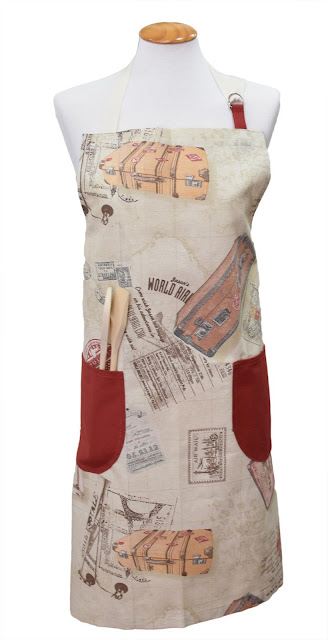 Vintage Tablecloth Apron Costura, Mandil y Delantales